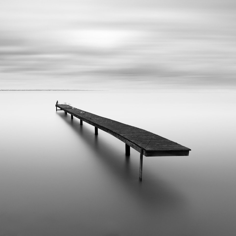 Floating Pier by Fatehi - Black And White Landscapes Photo Contest