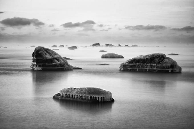 Trinity by Vidrik - Winter In Black And White Photo Contest