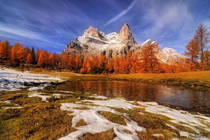 Pelmo in autumn by AndreaSagui - Image Of The Month Photo Contest Vol 22