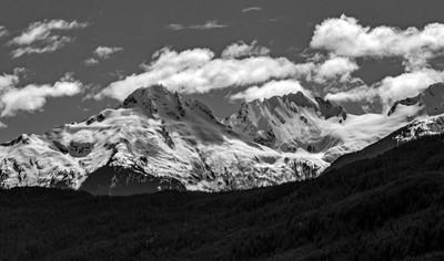 Mount Alpha and Mount Serratus