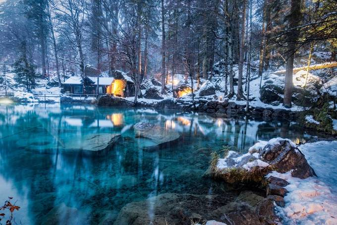 Naturpark Blausee by ericcriswell - Experimental Light Photo Contest