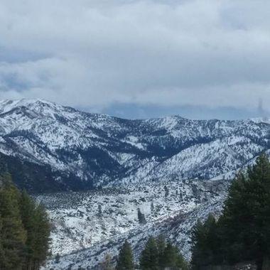 Sierra Nevada mountain range, CA