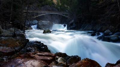 Pacific Crest Trail Foot Bridge