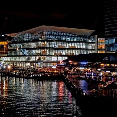 Darling Harbour & The International Convention Centre, Sydney, Australia