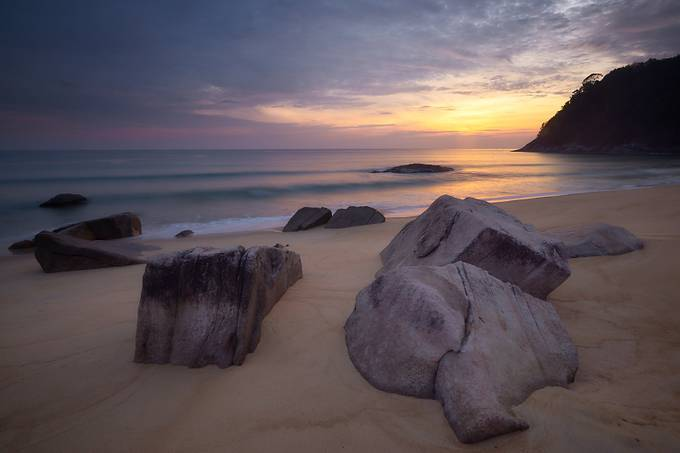 Sunrise Beach by chrisnaturegraphy - The First Light Photo Contest