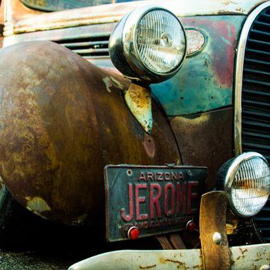 Old Jerome Car