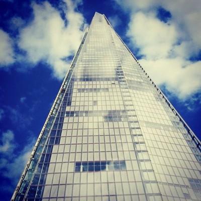Looking Up At London