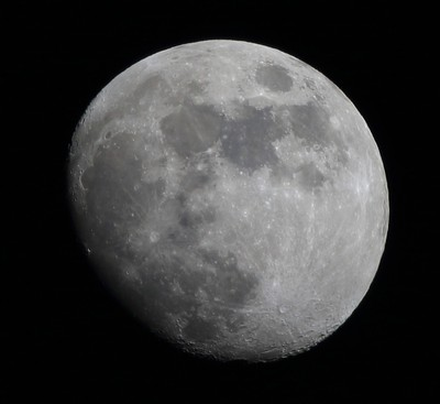 Moon over Texoma