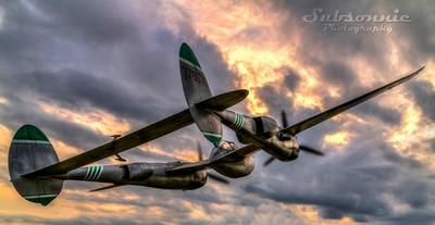 "P-38 Lightning ""Jandina IV"""