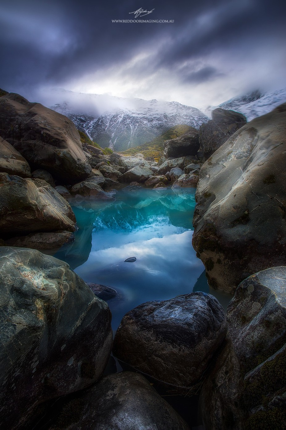 reflecing-on-kea by rodneytrenchard - Image Of The Month Photo Contest Vol 22