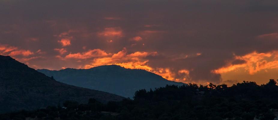 greece sunrise