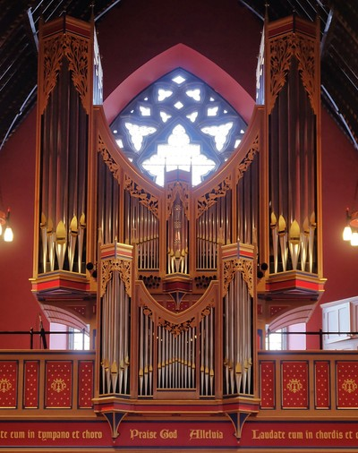 Organ, St. Mary's Cathedral, Newcastle upon Tyne
