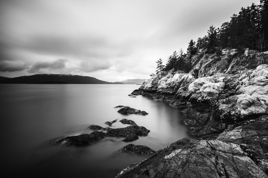 Shore Pine Point in Lighthouse Park just outside of Vancouver British Columbia in Canada. Got my ...