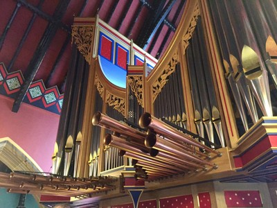 Organ, St. Mary's Catholic Cathedral, Newcastle upon Tyne