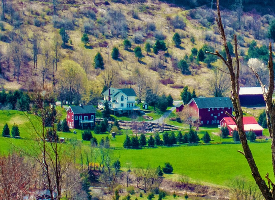 Catskill farms  come back to life in the Spring