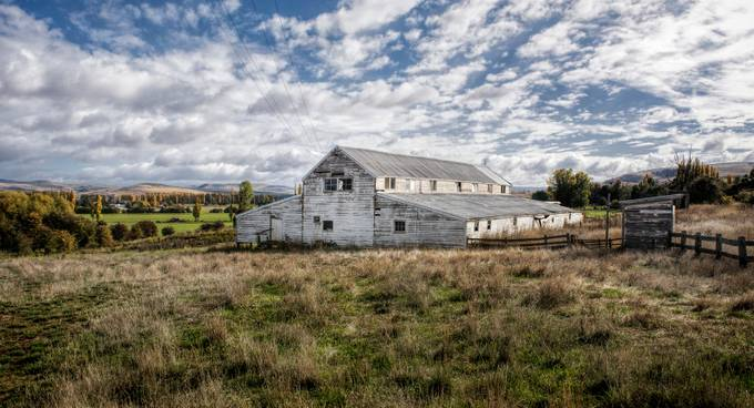 An old Shearing Shed in the Derwent Valley that is not often used anymore.