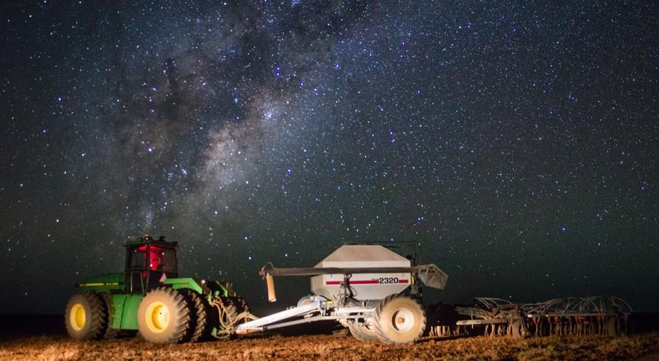 Seeding under the stars