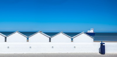 changing rooms on beach