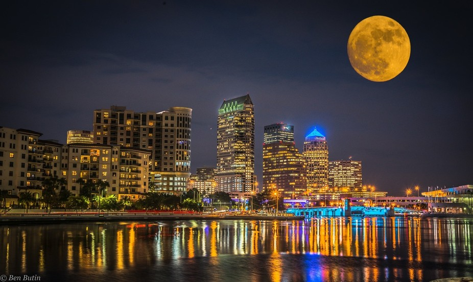 Moon over Tampa Small
