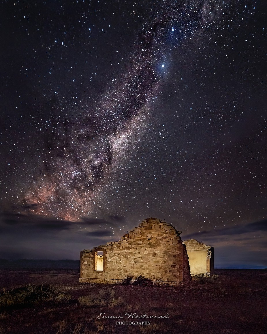 The Emu Rising by emmafleetwood - Capture The Milky Way Photo Contest