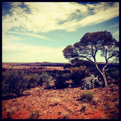 Love the coulours of outback Australia