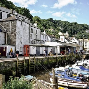 "Picturesque Cornish Fishing Village of  Polperro, Cornwall, England (3) - The ""Britain"" Collection"