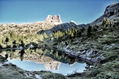 Nature lake reflection!