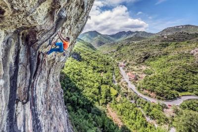 Climbing at Erboristeria