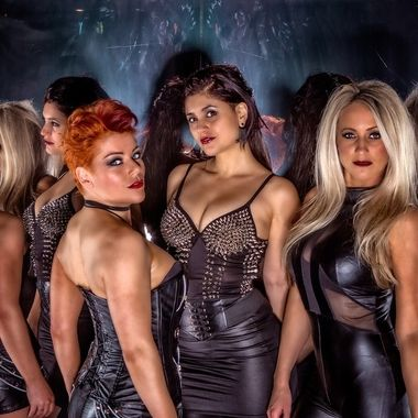 From a photoshoot with the ladies of 'Women in Rock'