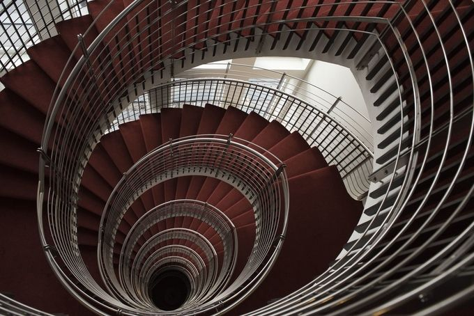 Spiral Staircases by AnjaChooPhotography - Stairways Photo Contest