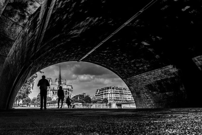 Gotham City - Paris by AlexisRangaux - City Life In Black And White Photo Contest