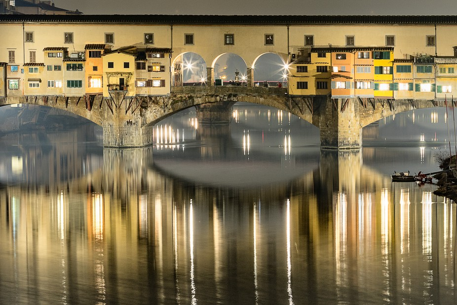 "The famous Ponte Vecchio or ""Old Bridge"" in Italian is a must stop location for..."