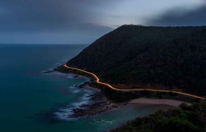 Teddys Lookout, Lorne by susanzentay - Cloudy Nights Photo Contest