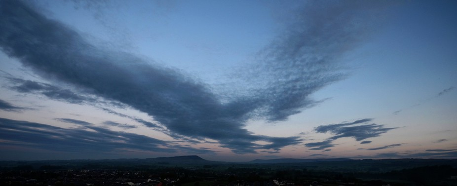 Longridge fells, cloudscape, landscape , skyscape