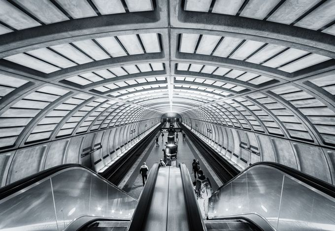 DC Metro by jfischerphotography - Metro Stations Photo Contest