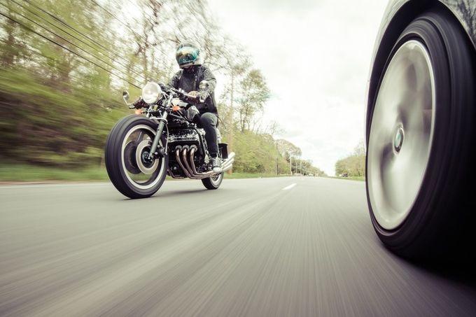 Honda CBX Cafe Racer by HathsinPhotography - Capture Motion Blur Photo Contest