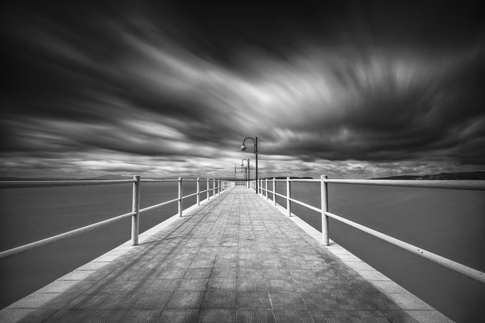 Clouds to the wind by Juarez - Long Exposure Experiments Photo Contest