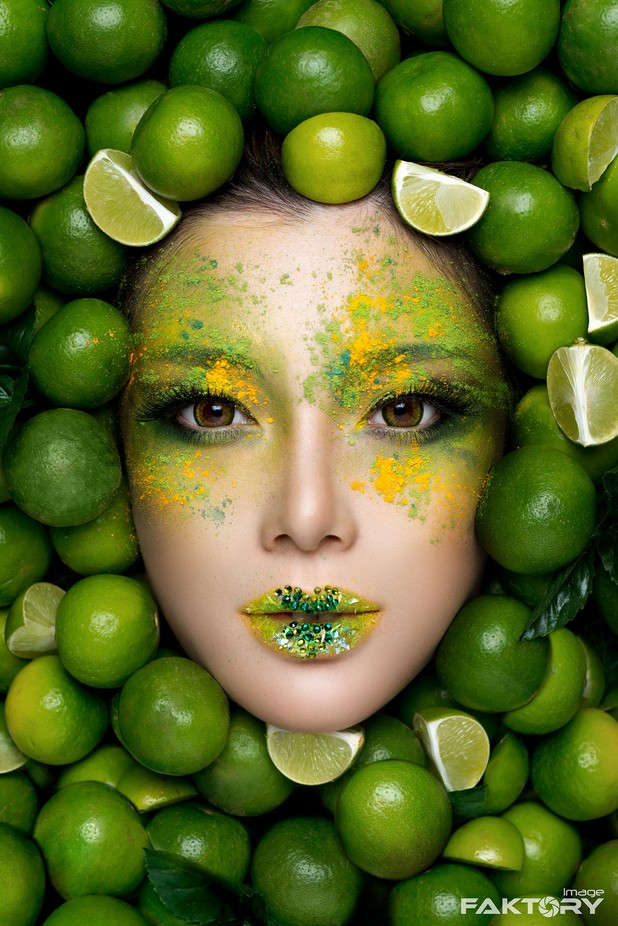Lime by ImageFaktory - Paint And Makeup Photo Contest