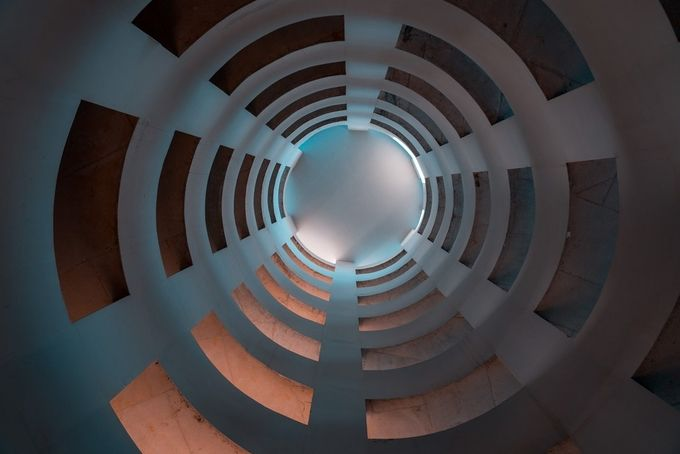 Spirals by klepikovadaria - Composing With Circles Photo Contest