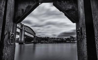 framed bridge