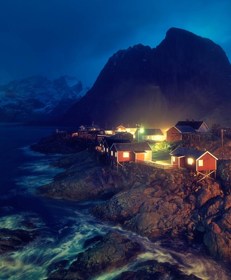 Hamnoy, Lofoten by marcsharp - Night Wonders Photo Contest
