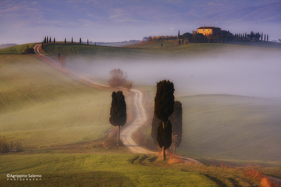 Val D'Orcia, a combination of art and landscape  http://agrippinosalerno.weebly.com