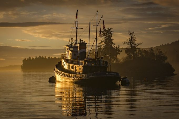 Sunrise on Seahorse  by Bellebuoy - Ships And Boats Photo Contest