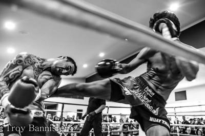 Muay Thai fight Airlie Fight night Airlie Beach Queensland Australia