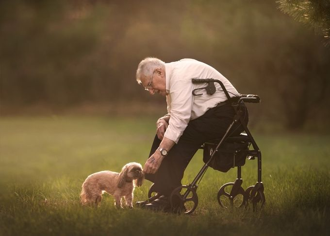 Friendship knows no age.  by Annelisenicolephotography - Thank You Photo Contest