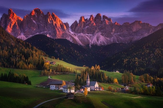 Dolomiti Painting by albertdros - Europe Photo Contest