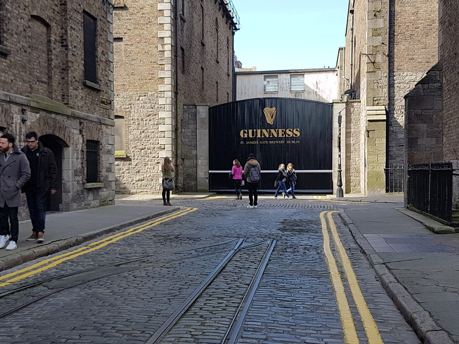The Guinness Brewery, Dublin