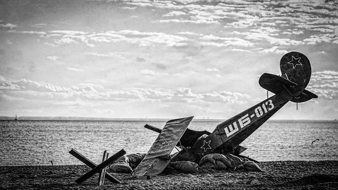 Fallen, but not forgotten (B&W) by MOZEL - Subjects On The Ground Photo Contest