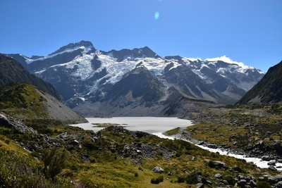 Hiking Hooker Valley Track