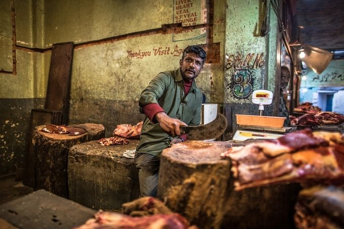 The butcher by Marco_Tagliarino - Food Markets Photo Contest